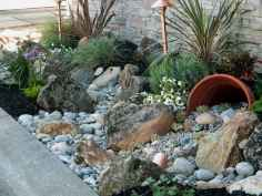 Beautiful front yard rock garden landscaping ideas (48)