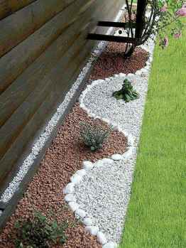 Beautiful front yard rock garden landscaping ideas (60)