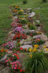 Beautiful front yard rock garden landscaping ideas (7)