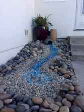 Beautiful front yard rock garden landscaping ideas (73)