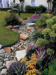 Beautiful front yard rock garden landscaping ideas (77)