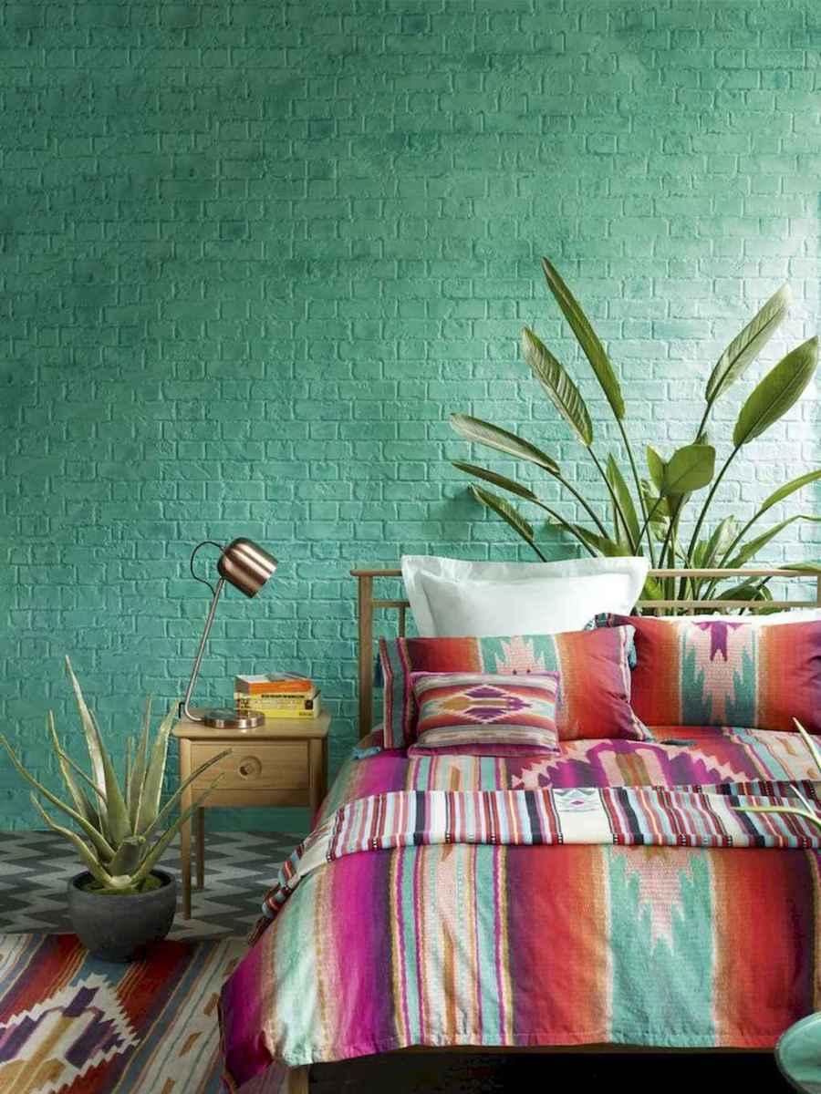 Beautiful and elegance chic bohemian bedroom decor ideas (33)