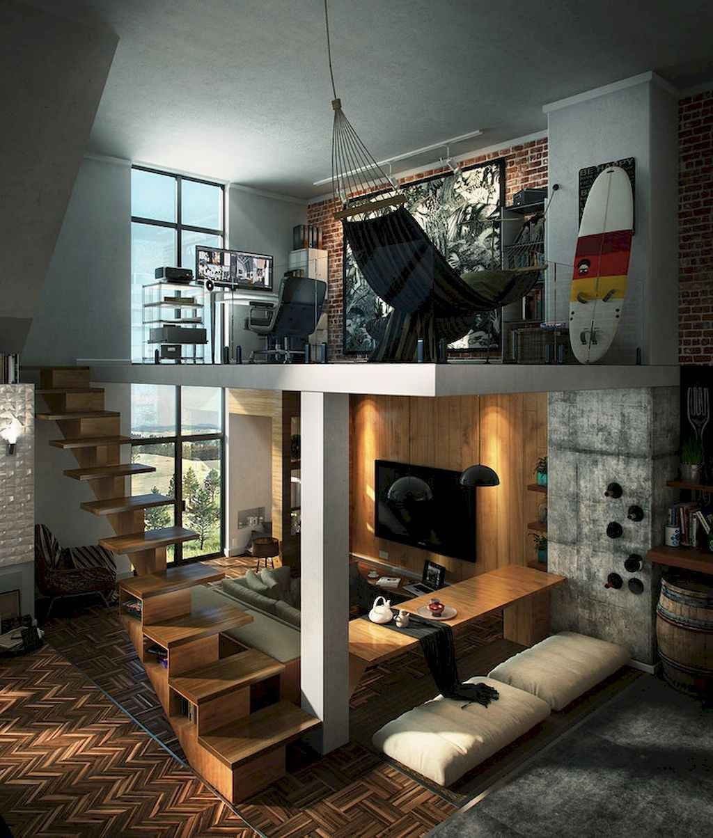 Cool creative loft apartment decorating ideas (15)
