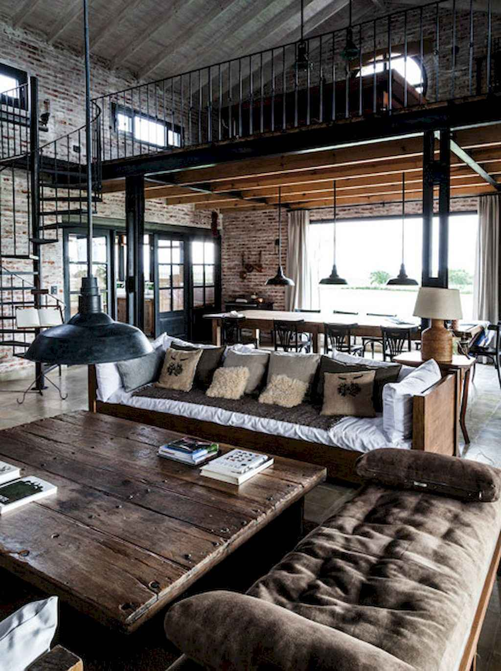 Cool creative loft apartment decorating ideas (43)