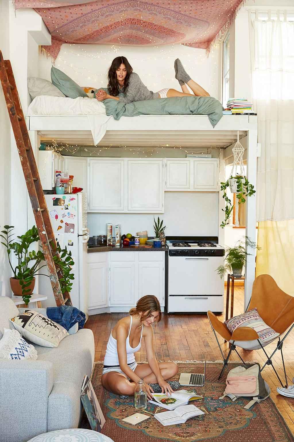 Cool creative loft apartment decorating ideas (56)