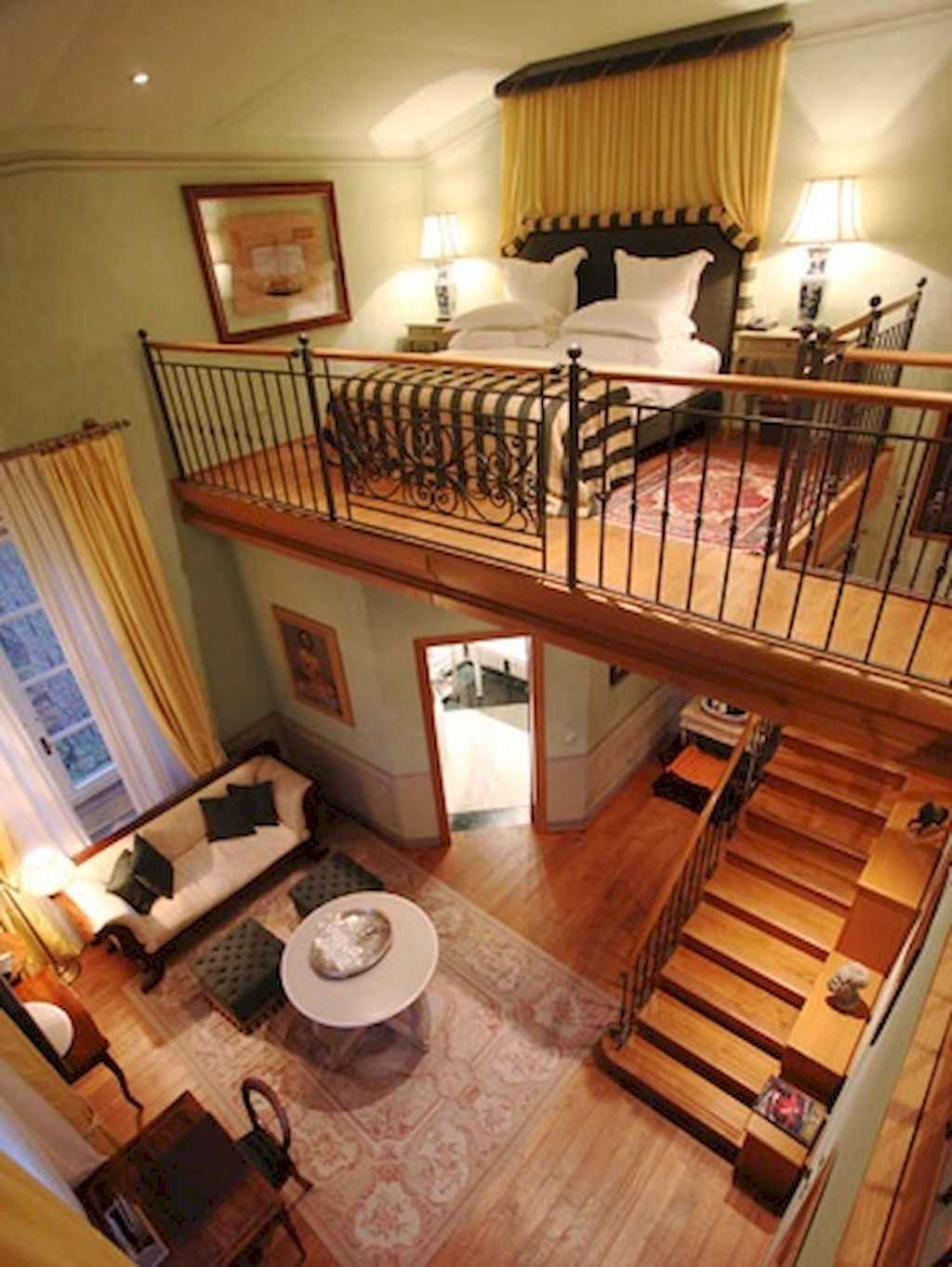 Cool creative loft apartment decorating ideas (6)