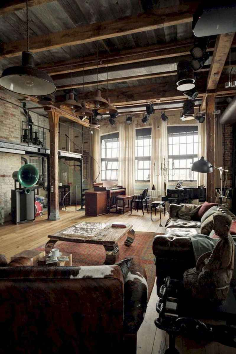 Cool creative loft apartment decorating ideas (65)