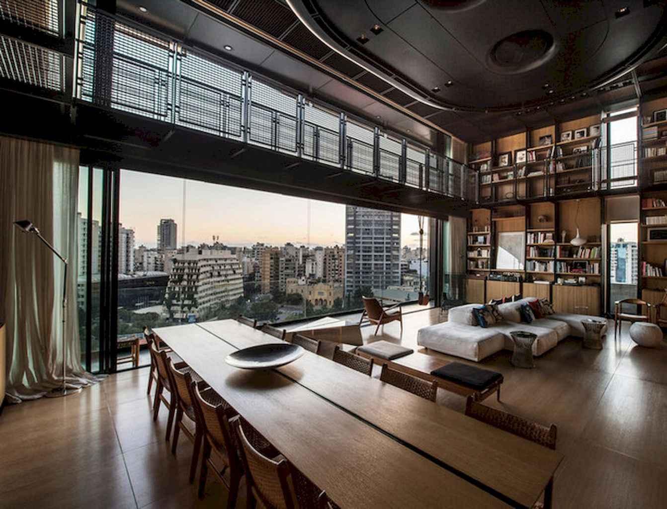 Cool creative loft apartment decorating ideas (66)