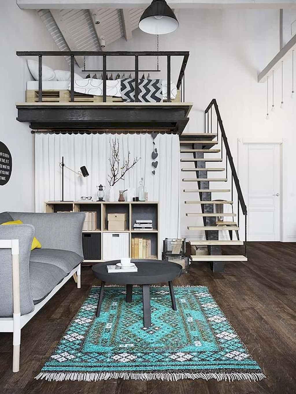 Cool creative loft apartment decorating ideas (68)