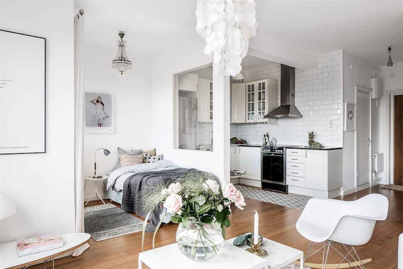 Cool small apartment decorating ideas on a budget (4)