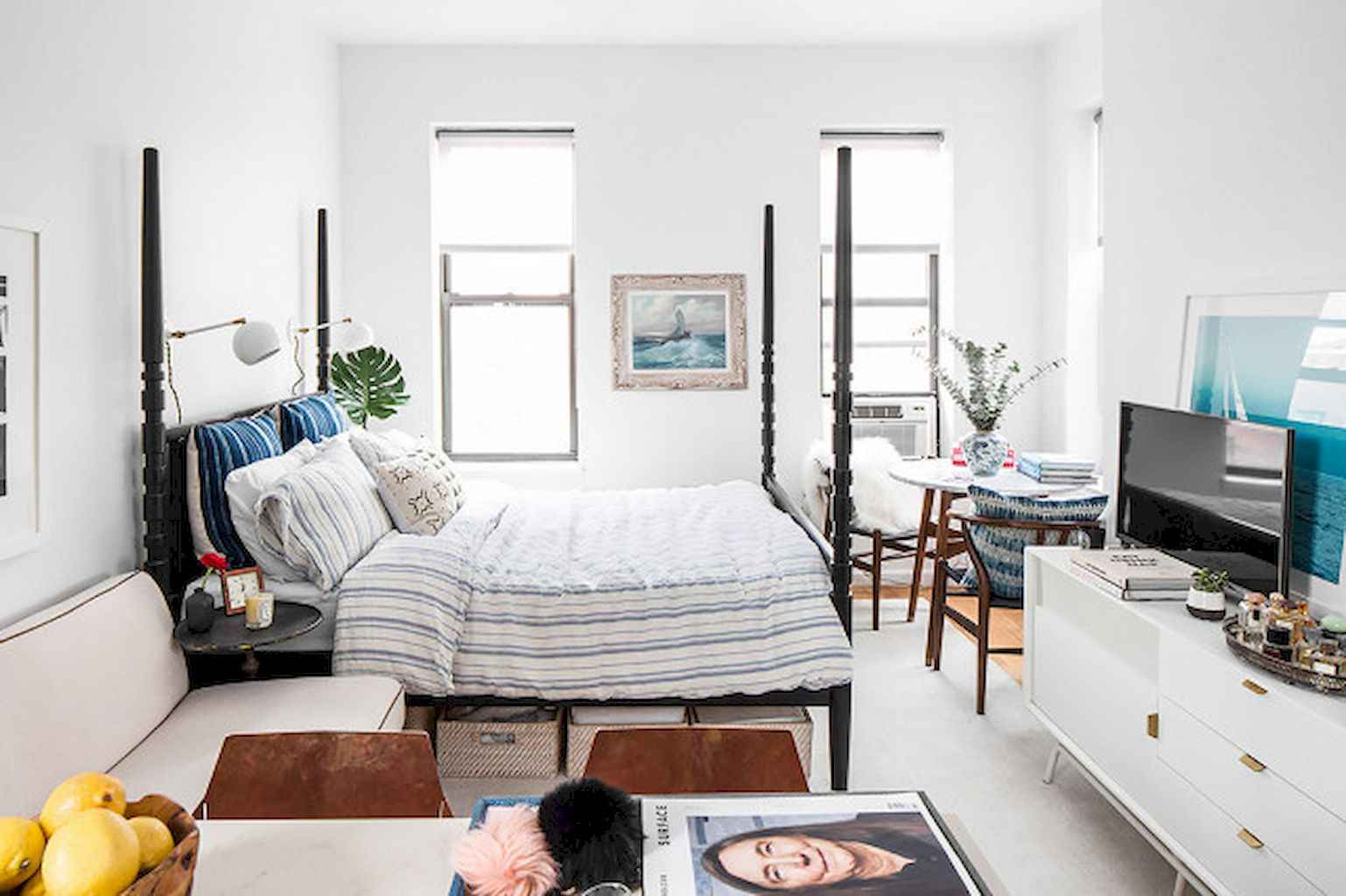 Cool small apartment decorating ideas on a budget (41)