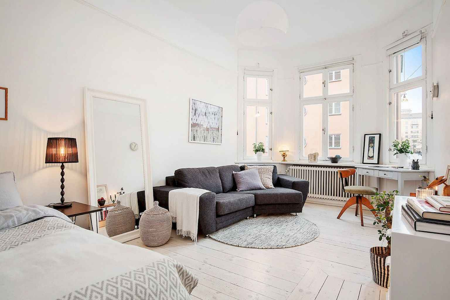 Cool small apartment decorating ideas on a budget (8)
