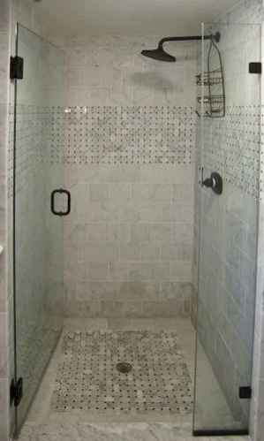 Cool small bathroom shower remodel ideas (13)