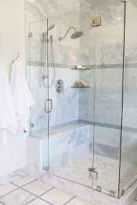 Cool small bathroom shower remodel ideas (58)