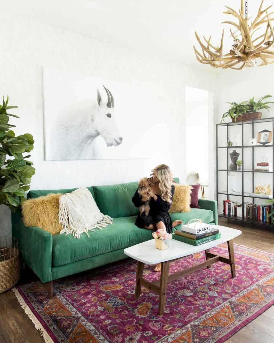 Cozy bohemian style living room decorating ideas (1)