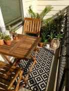 Cozy small apartment balcony decorating ideas (45)
