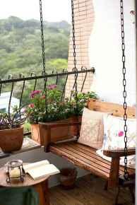 Cozy small apartment balcony decorating ideas (60)