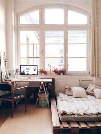 Creative cool small bedroom decorating ideas (28)
