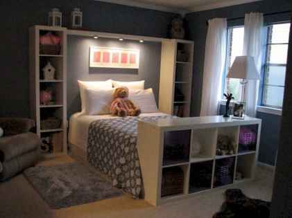 Creative cool small bedroom decorating ideas (53)