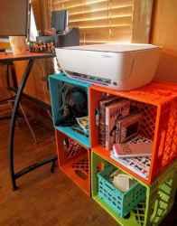 Creative dorm room storage organization ideas on a budget (1)