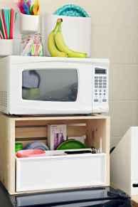 Creative dorm room storage organization ideas on a budget (13)