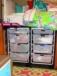 Creative dorm room storage organization ideas on a budget (19)