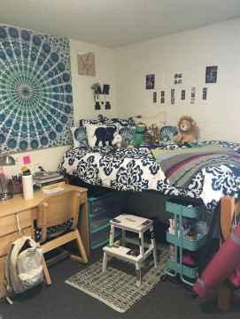 Creative dorm room storage organization ideas on a budget (33)