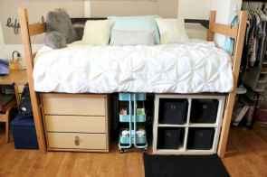 Creative dorm room storage organization ideas on a budget (38)