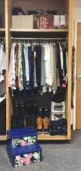 Creative dorm room storage organization ideas on a budget (4)