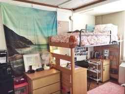 Creative dorm room storage organization ideas on a budget (51)