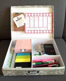 Creative dorm room storage organization ideas on a budget (70)