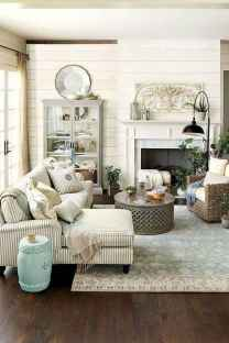 Fancy french country living room decorating ideas (10)