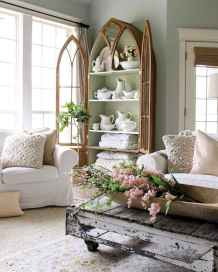 Fancy french country living room decorating ideas (16)