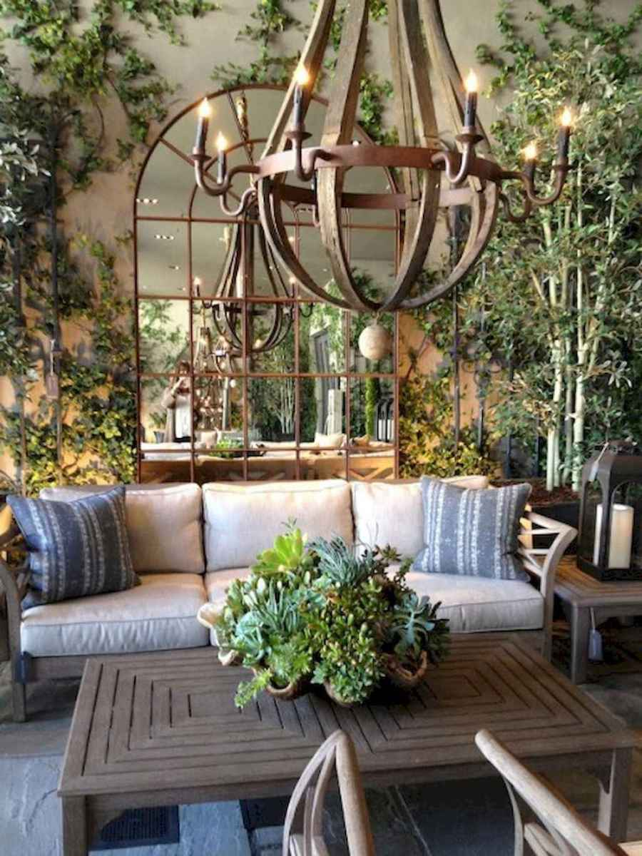 Fancy french country living room decorating ideas (35)