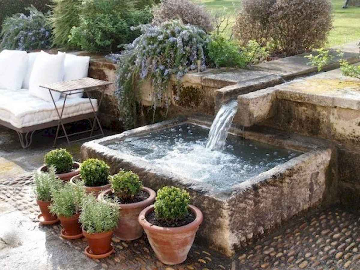 Fresh water feature for front yard and backyard landscaping (30)