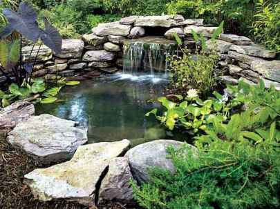 Fresh water feature for front yard and backyard landscaping (39)