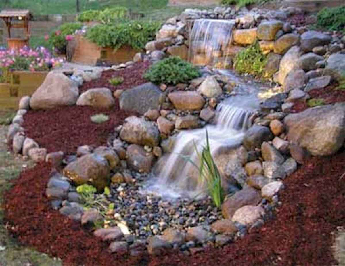 Fresh water feature for front yard and backyard landscaping (45)