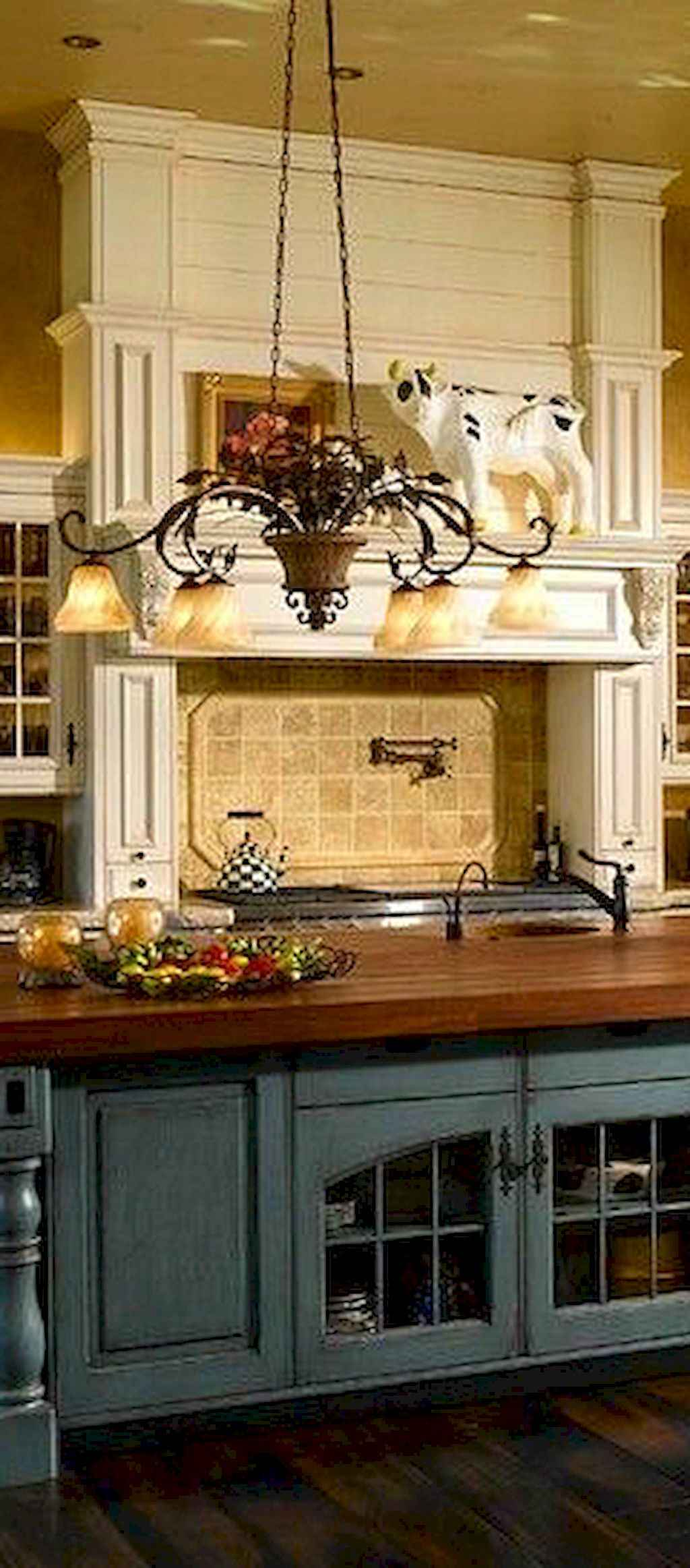 Incredible french country kitchen design ideas (11)