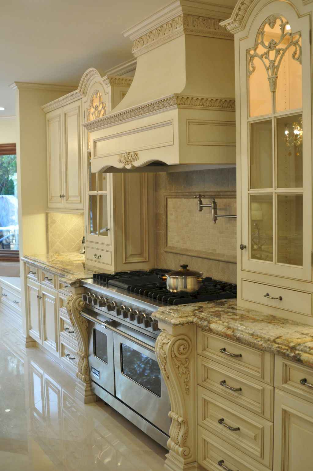 Incredible french country kitchen design ideas (21)