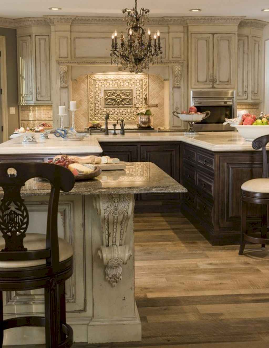 Incredible french country kitchen design ideas (26)