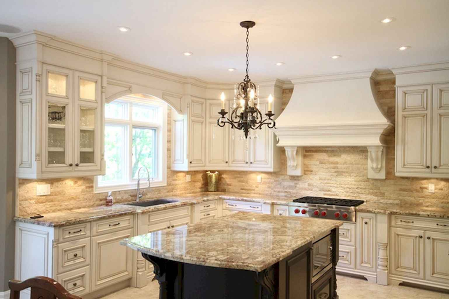 Incredible french country kitchen design ideas (30)