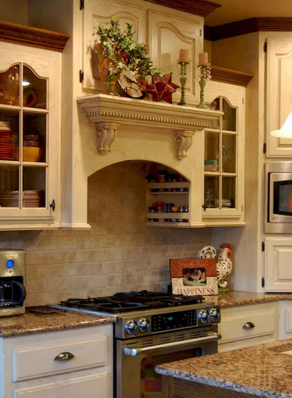 Incredible french country kitchen design ideas (31)