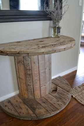 Rustic farmhouse living room design and decor ideas (15)