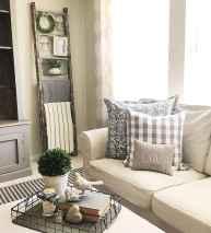 Rustic farmhouse living room design and decor ideas (27)