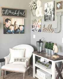 Rustic farmhouse living room design and decor ideas (29)