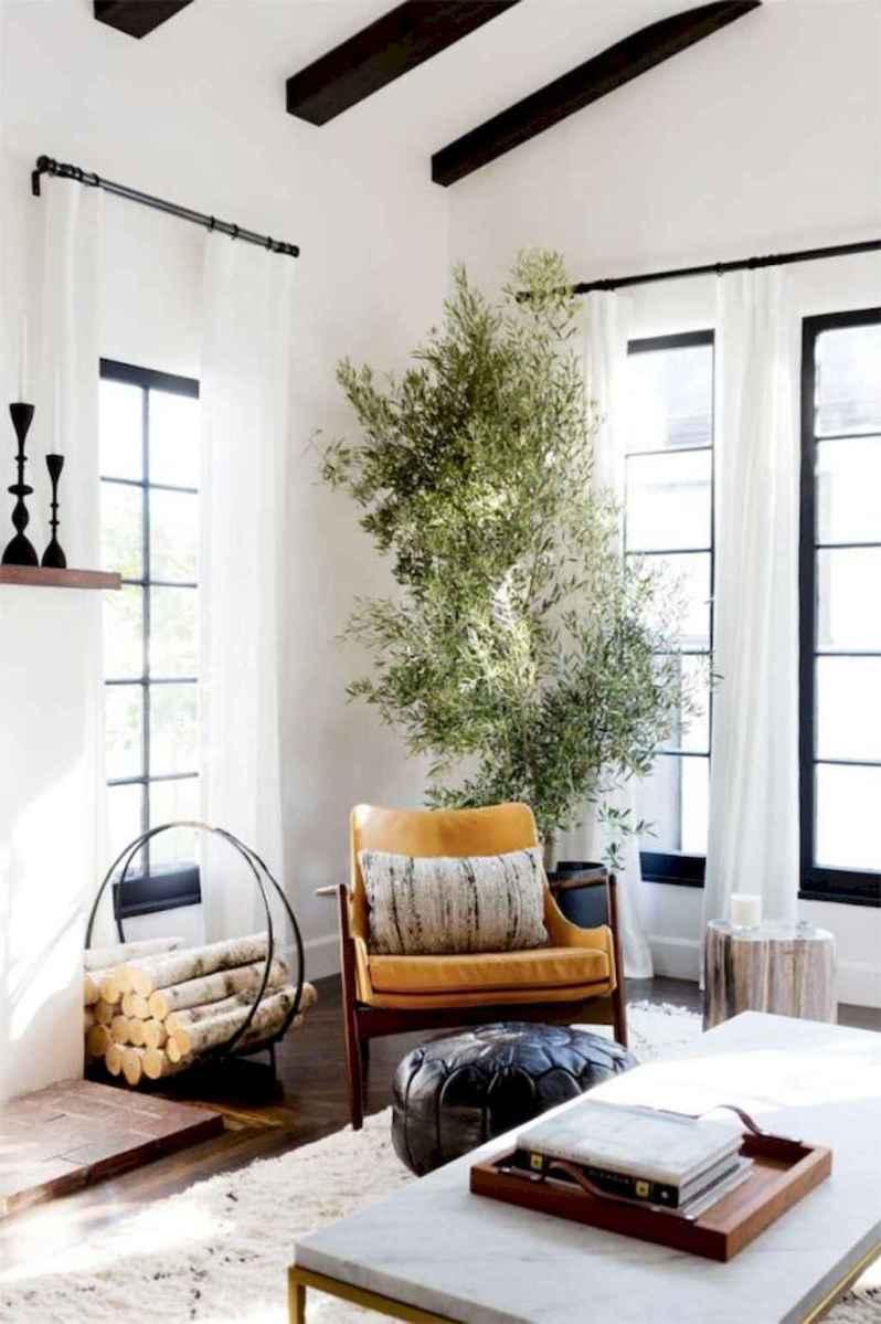 Rustic farmhouse living room design and decor ideas (46)