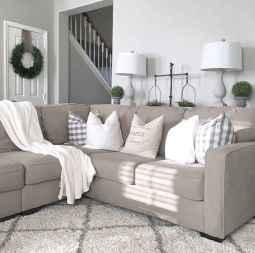 Rustic farmhouse living room design and decor ideas (5)