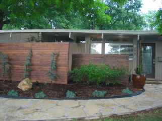 Simple clean modern front yard landscaping ideas (2)