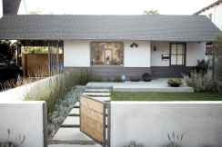 Simple clean modern front yard landscaping ideas (35)