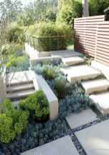 Simple clean modern front yard landscaping ideas (60)
